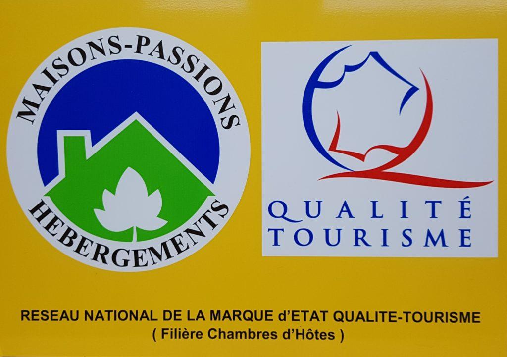Maisons Passions Hébergements et La Marque QUALITE-TOURISME™