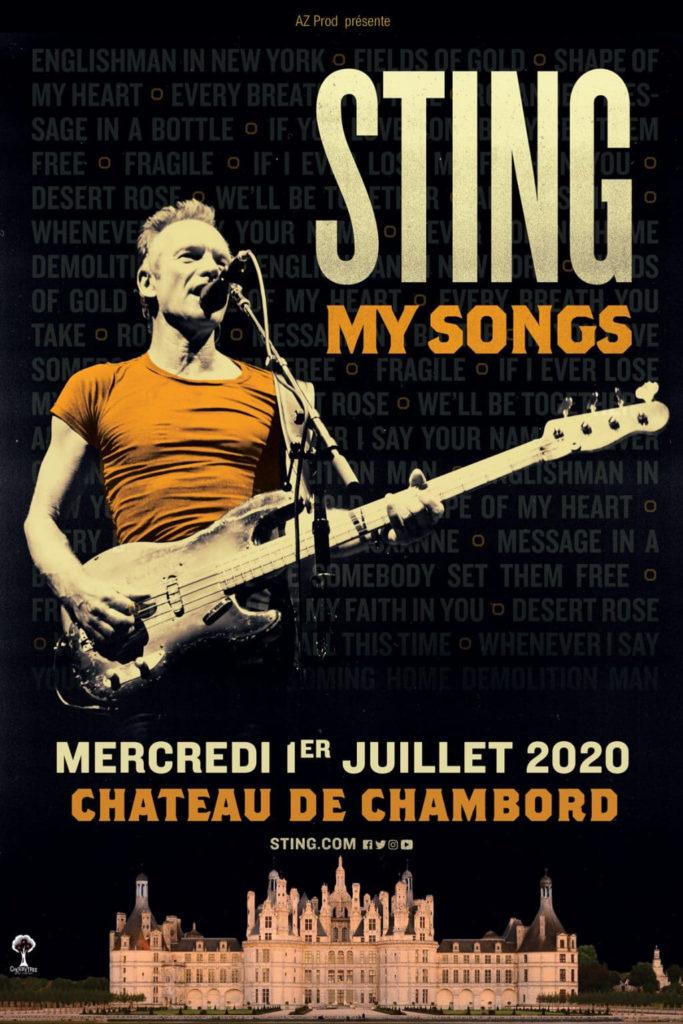 Sting à Chambord – Où Dormir en Région Centre-Val de Loire
